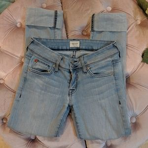 Hudson Cropped and Cuffed Jeans Size 24